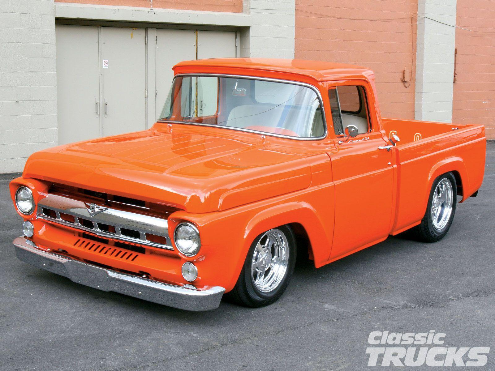 Old Pickup Trucks | 1003clt_01_o%2b1957_ford_f100_pickup_truck ...