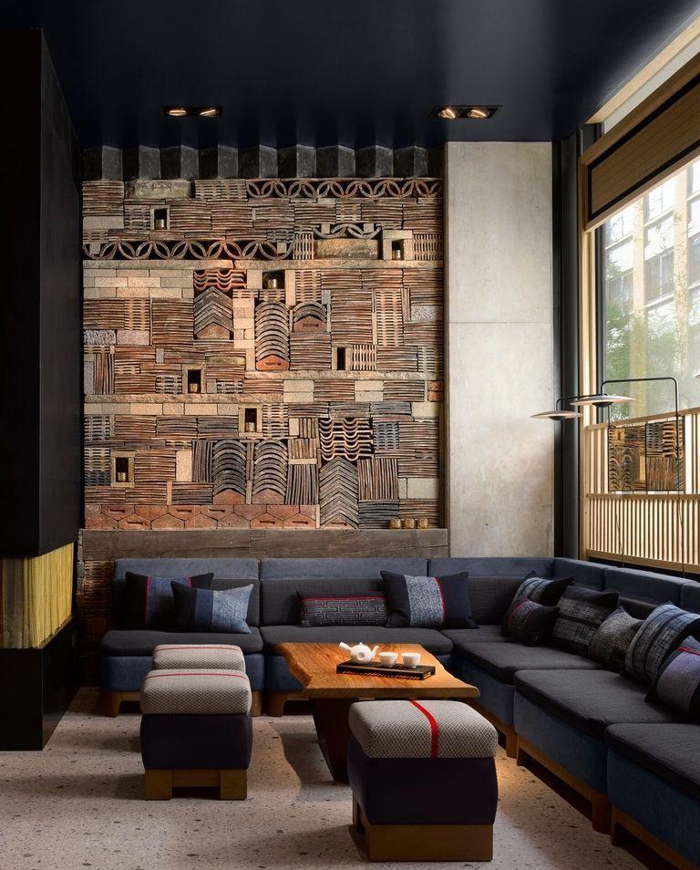 Nobu Hotel Shoreditch Ron Arad Architects Interior Design Studio Mica London U K Hotel Interior Design Hotel Interiors Hotel Decor