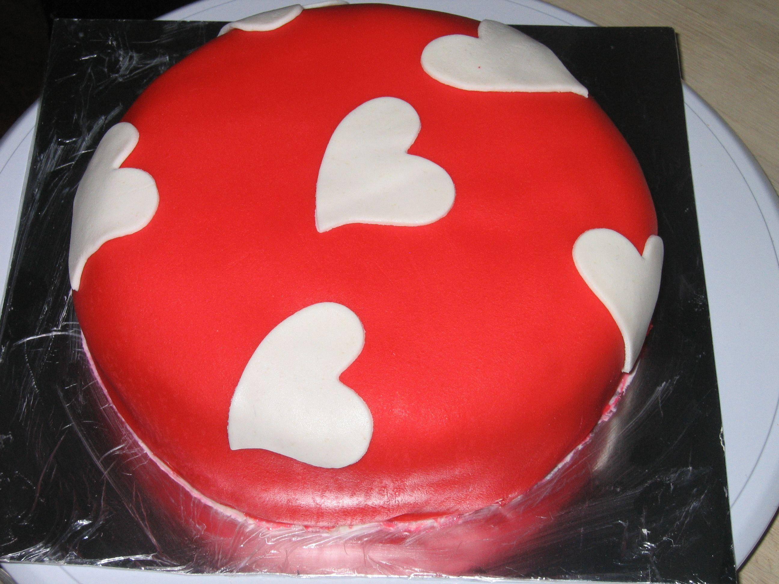 Valentijns taartje