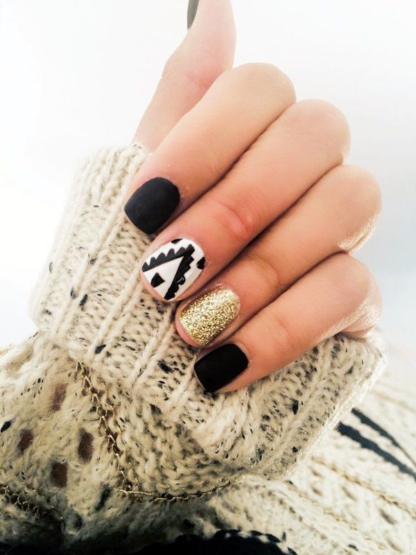 55 Easy New Years Eve Nails Designs and Ideas 2018 | Easy, Makeup ...