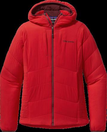 Patagonia Women's NanoAir Hoodie Jacket French Red XS