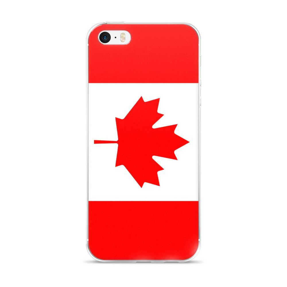 the best attitude 1d806 af4d4 Flag of Canada Protective iPhone Case (For all iPhone 5,6,7 Models ...