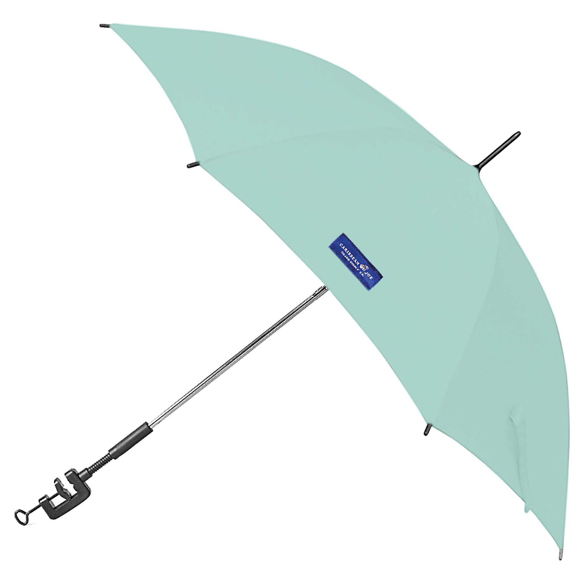 Clamp On Chair Umbrella Caribbean Joe 48 Clamp On Beach Chair Umbrella Mint Green