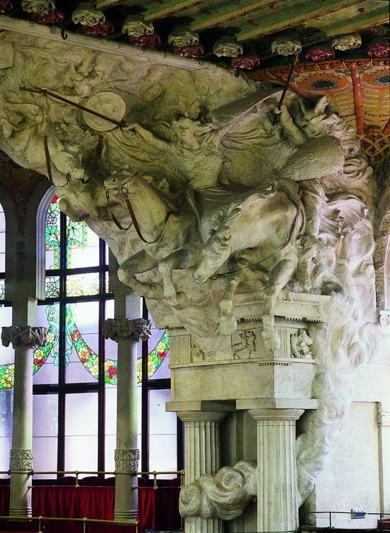 01ea35915349 PAU GARGALLO. Cavalvada de les Valkíries, al Palau de la Música ...