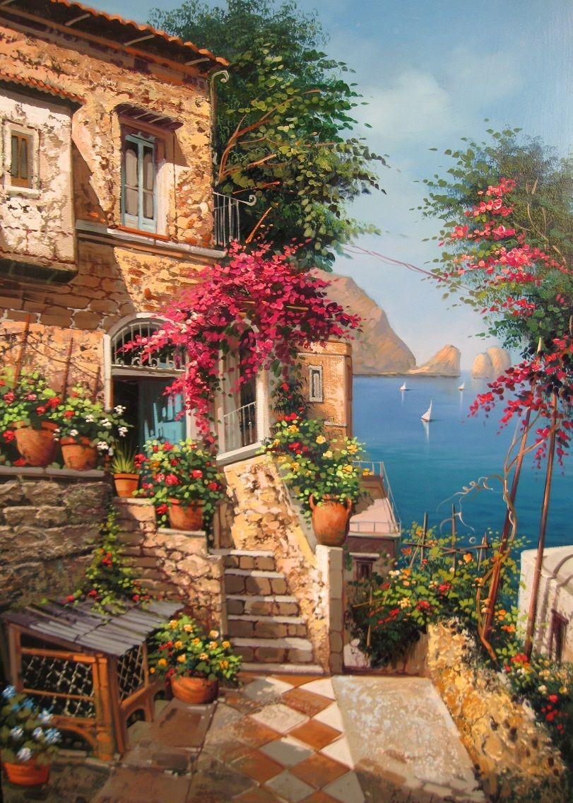 Pin Di Mete Aymar Su Yagli Boya Paesaggi Dipinti Ad Olio Con Paesaggio Disegni Di Paesaggi