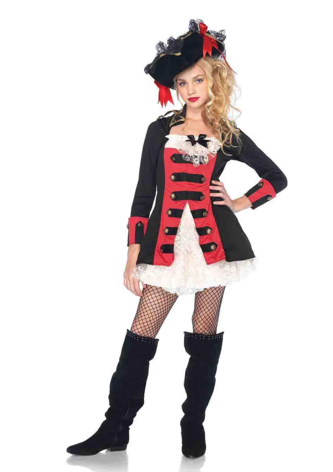 pretty pirate captain waistcoat dress costume | products | pinterest