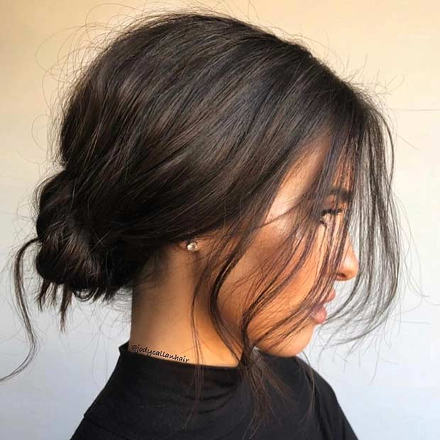 25 Trendy Prom Hairstyles for Short Hair   Page 2 of 2   StayGlam Gallery