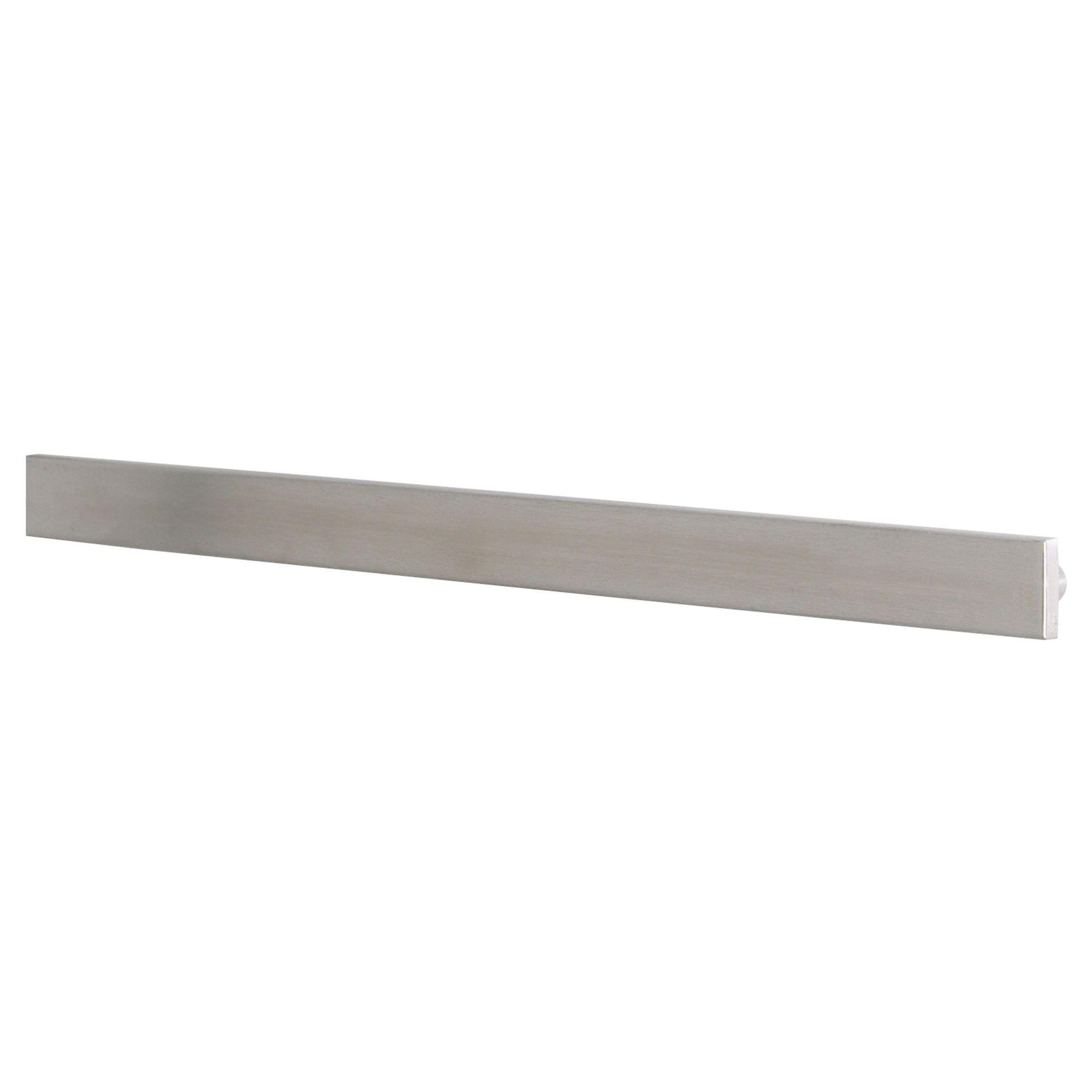 grundtal magnetic knife rack ikea i saw the idea of storing knives on a magnetic strip on a. Black Bedroom Furniture Sets. Home Design Ideas