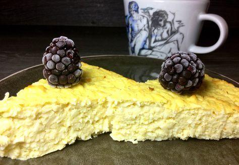 Vanillepudding Skyr Kuchen Mit Kokosflocken Rezept Ohne Zucker Und