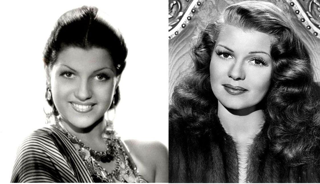 Rita Hayworth avant/après: de la danseuse latino à la déesse de l'Amour