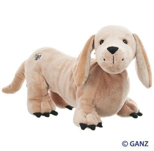 Blonde Dachshund Webkinz Dog Stuffed Animal By Webkinz By Ganz