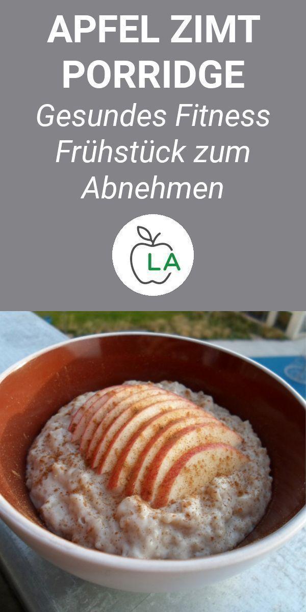 Ein #Apfel #Zimt #Porridge, #das #eiweißreich, #gesund #und #einfach #zu #machen #ist. #Hier #findes...