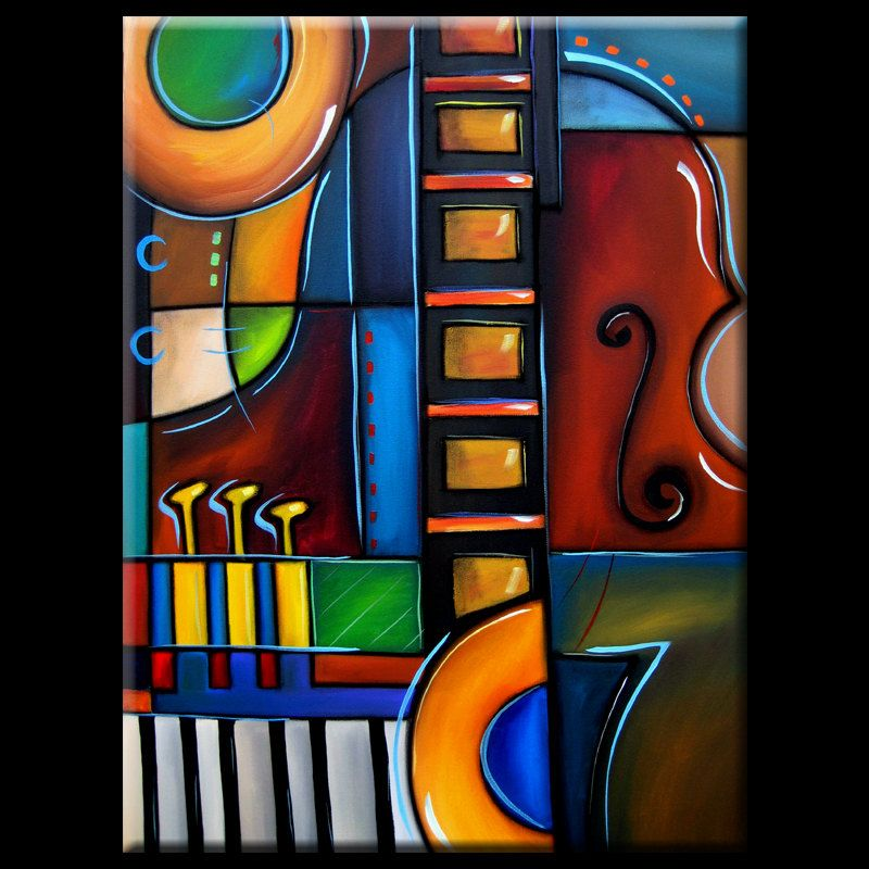 Modern Contemporary Music: Abstract Contemporary Modern Art CUBIST
