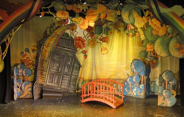 Wizard Of Oz Stage Sets