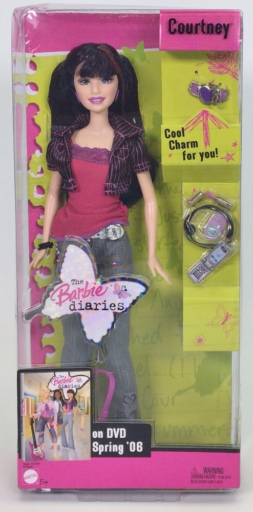 THE BARBIE DIARIES COURTNEY NRFB #Mattel #DollswithClothingAccessories