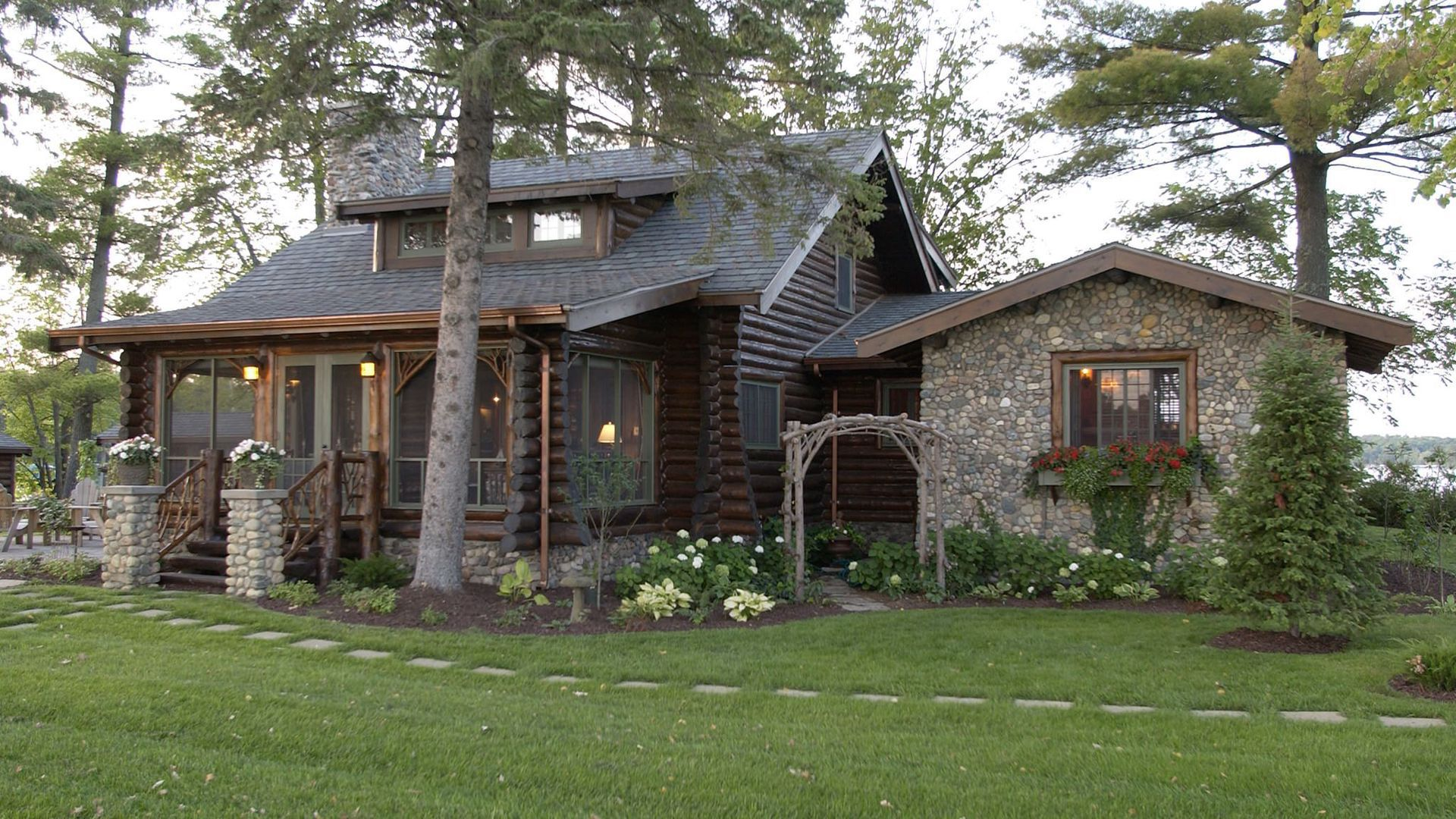 Discover Ideas About Stone Porches