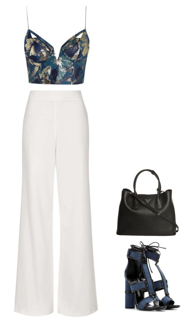 """style #044"" by szuu on Polyvore featuring Topshop, Zimmermann, Tom Ford and Prada"