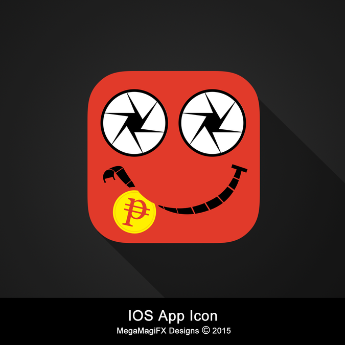 Pennycast (Name of APP) Our app icon for iphone and