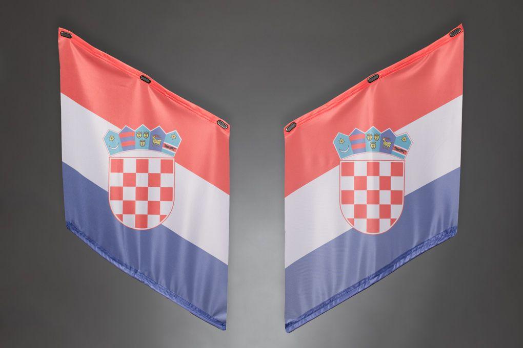 Fahnen   Armfahnen   flags   armflags   Fanartikel   Merchandising   Kroatien, Croatia, Hrvatska für 14,95 Euro