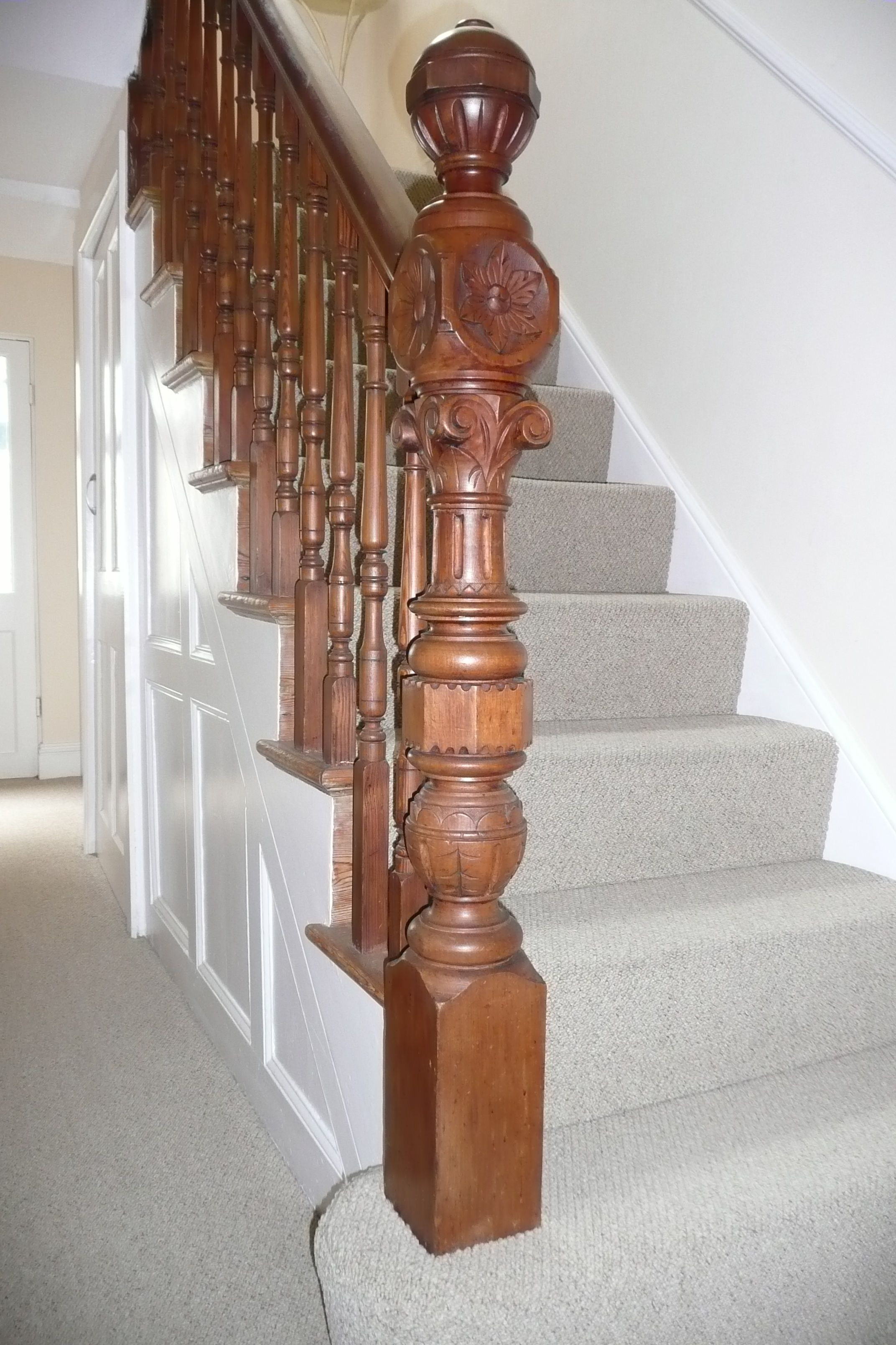 Beautiful Regency Early Victorian Newel Post Victorian Interiors 1 Newel Posts Victorian Interiors Victorian Architecture