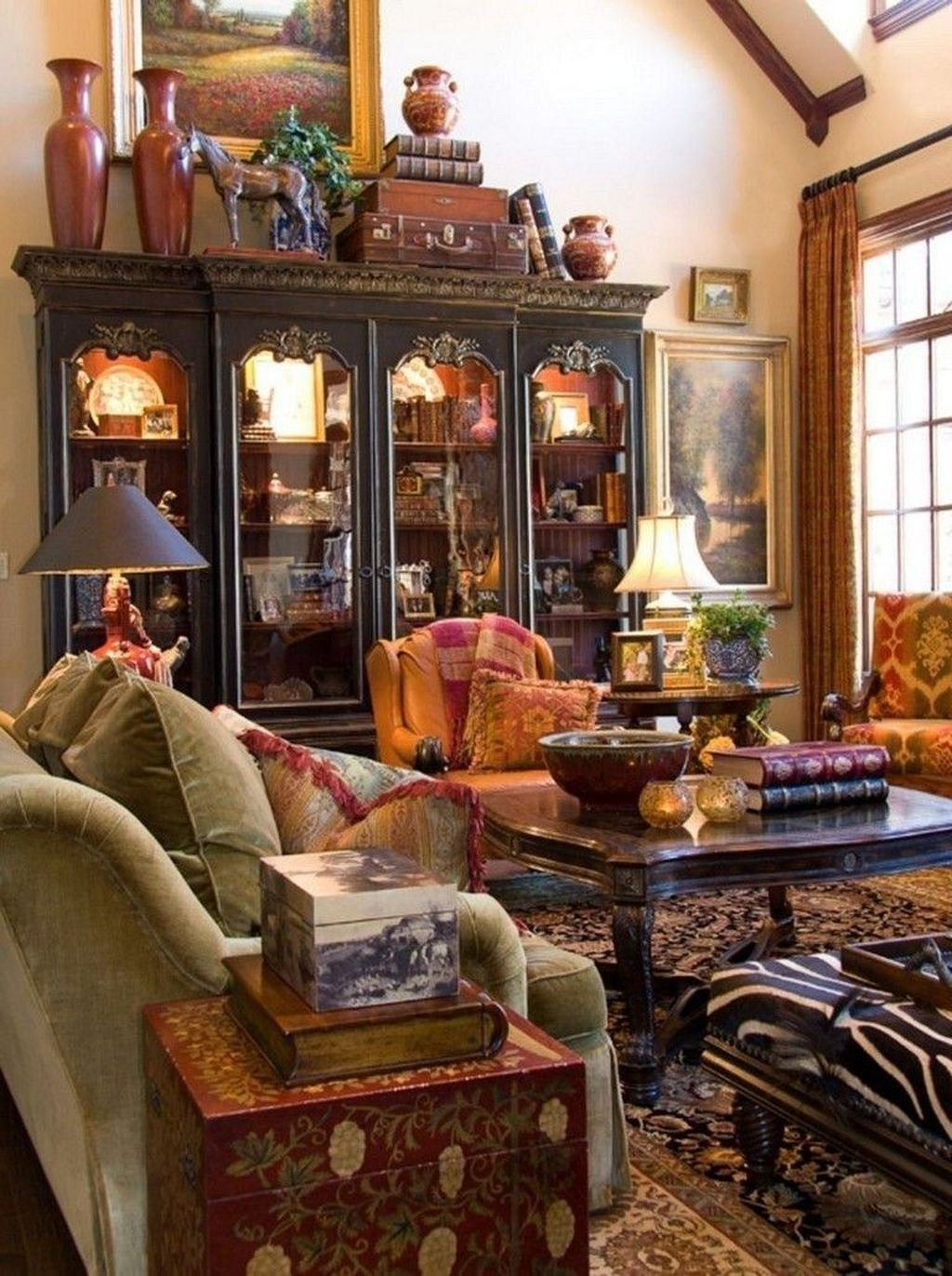 46 Astonishing French Country Living Room Decorating Ideas