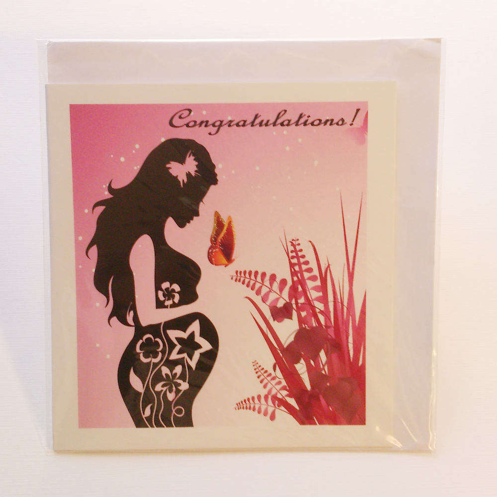 Pregnant woman silhouette greeting card in yoruba igbo hausa pregnant woman silhouette greeting card in yoruba igbo hausa akan shona kristyandbryce Gallery