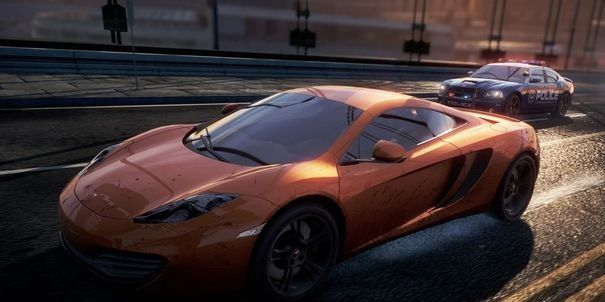 Lamborghini On Need For Speed Most Wanted Game Upgraded With