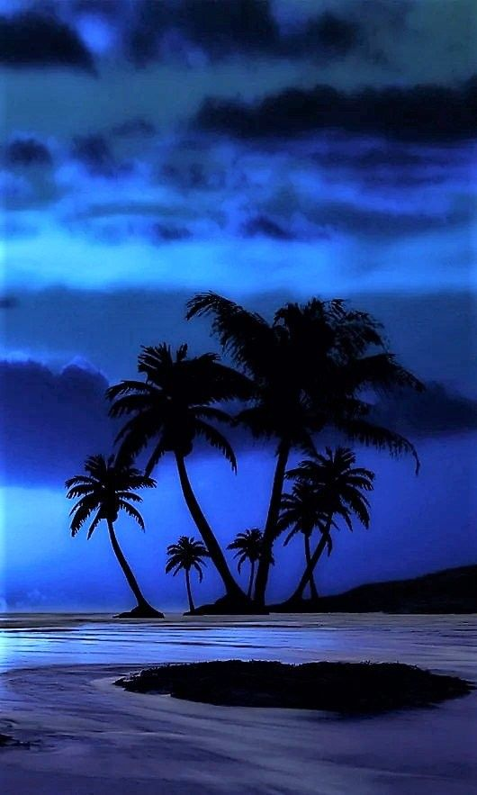 Pin by CC on Love of Blue (With images) | Sunset landscape