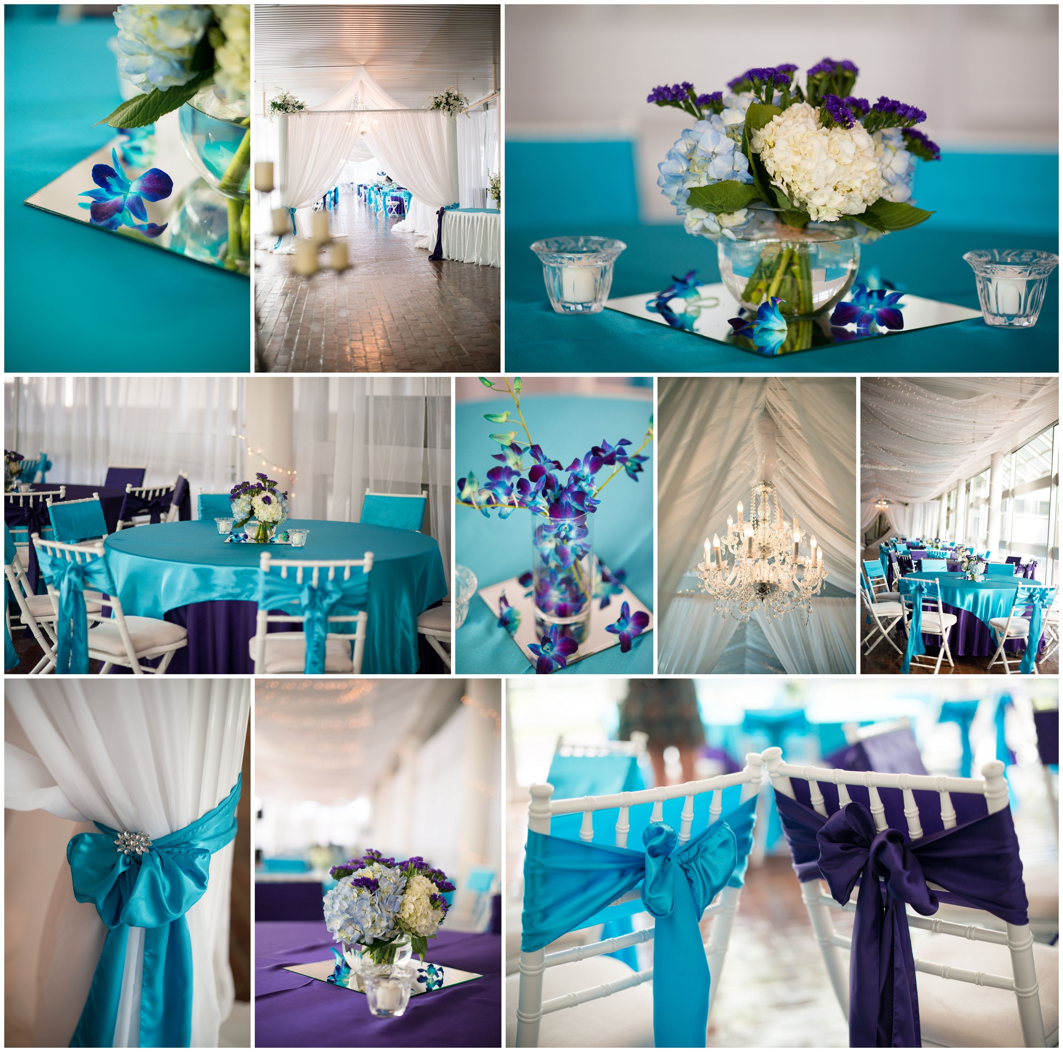 Details, Wedding Color Scheme Teal And Purple
