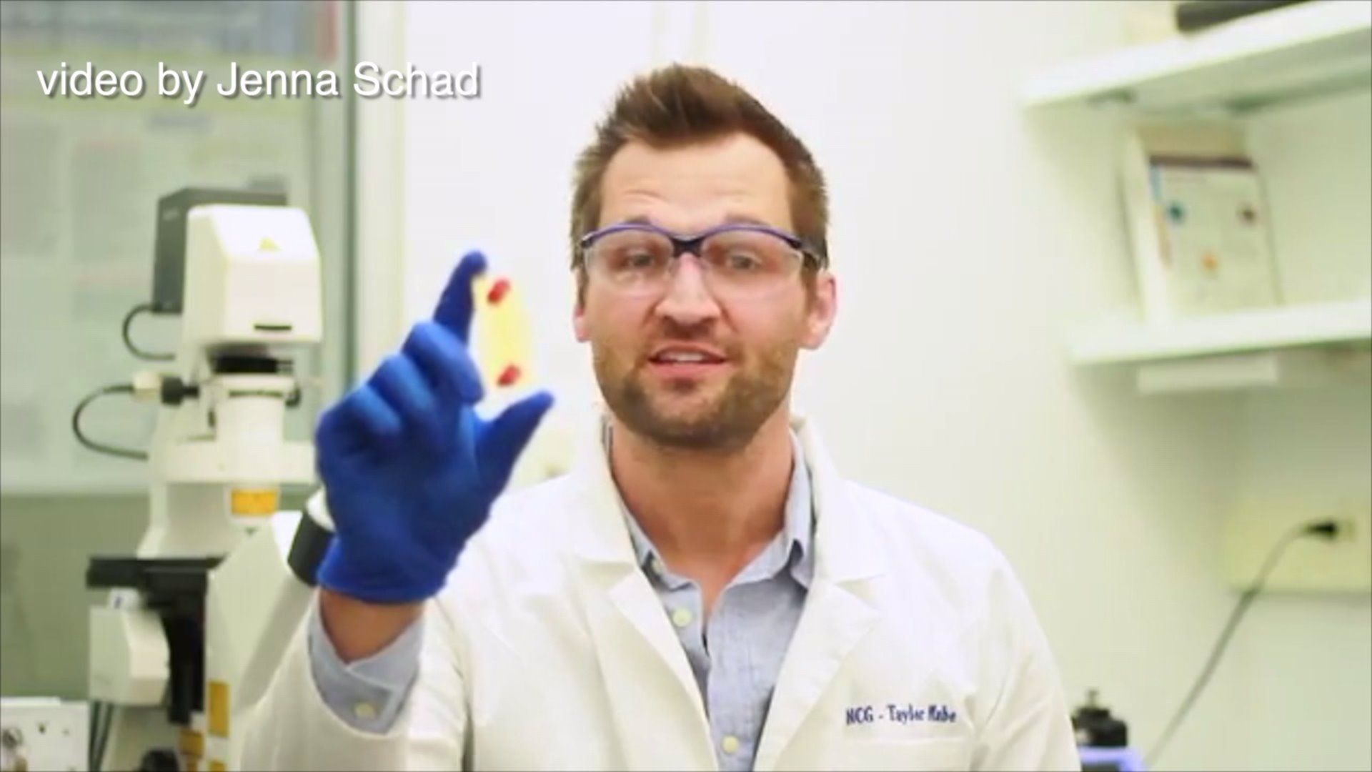 Local Scientist Creates Handheld Chemistry Lab  Science Med And