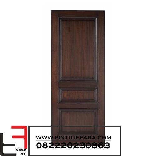 Wooden Door 3 Panel