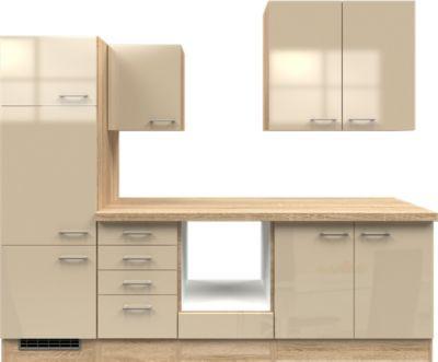 Flex-Well Küchenzeile ohne E-Geräte 270 cm L-270-2203-011 Nepal - küchenblock 270 cm