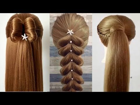 como hacer peinados faciles y bonitos & trenzas faciles y bonitas