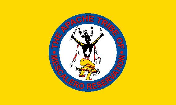 Flag Of The Mescalero Apache Tribe New Mexico Pinterest