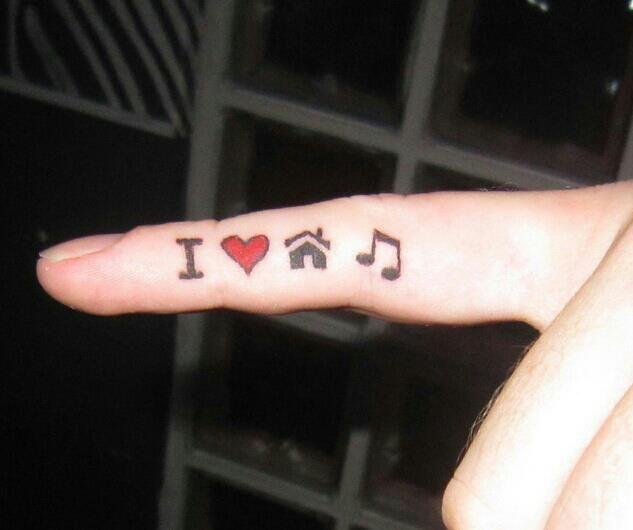 electronic dance music tattoos wwwpixsharkcom images