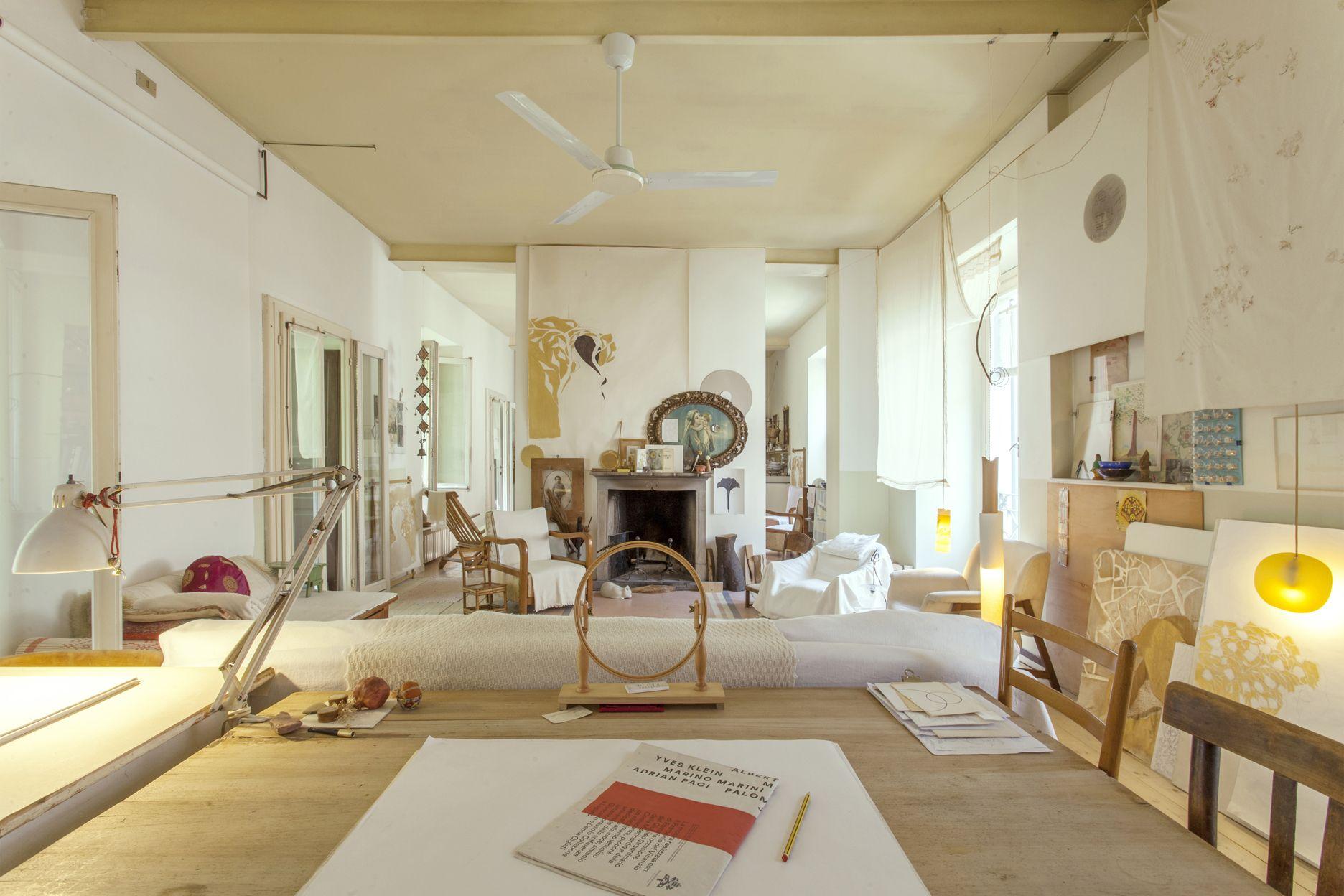 soggiorno studio | camilla santi b&b milano | Pinterest | Camilla