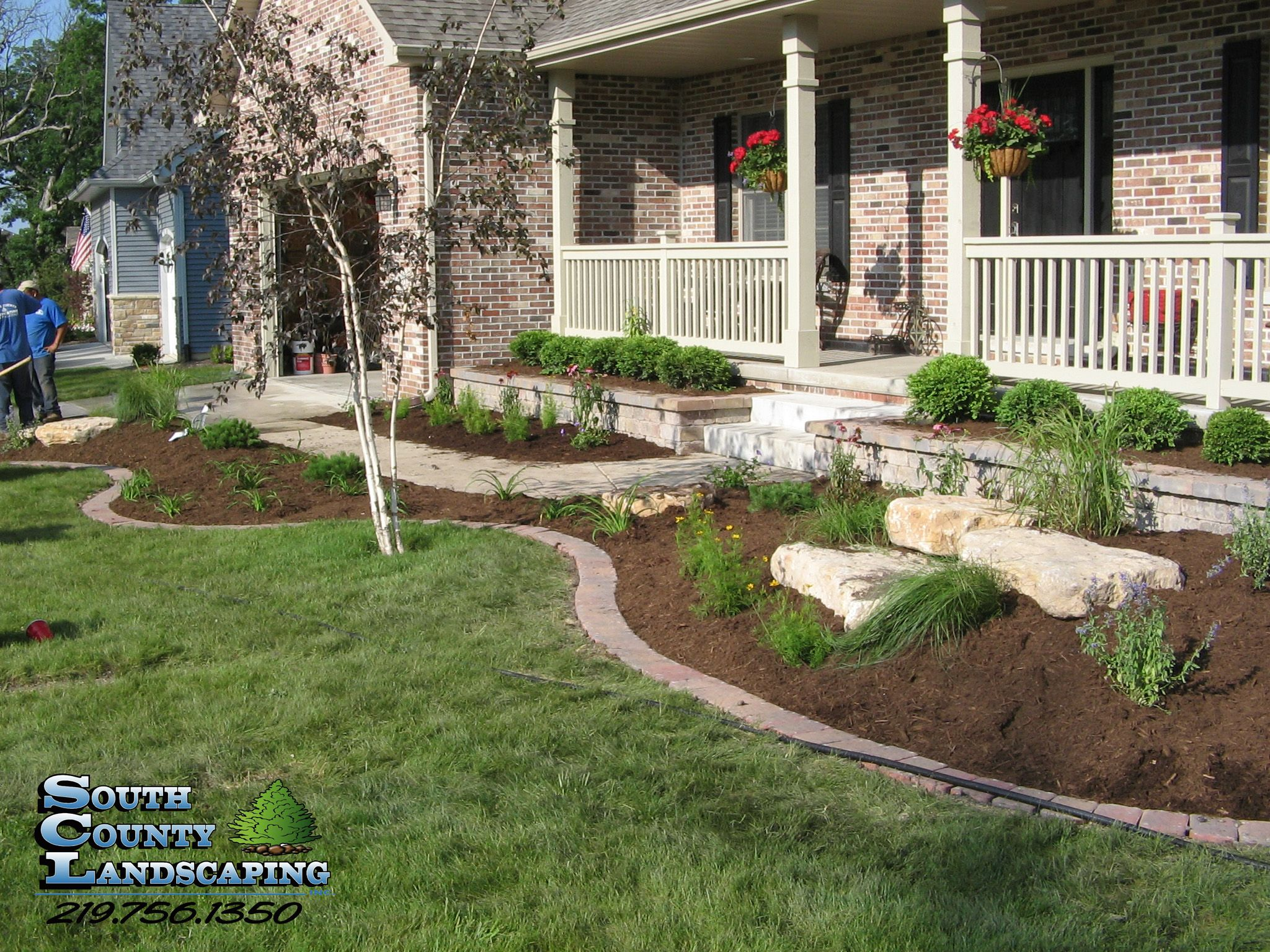 Landscaping services completed in Northwest Indiana | South County ...