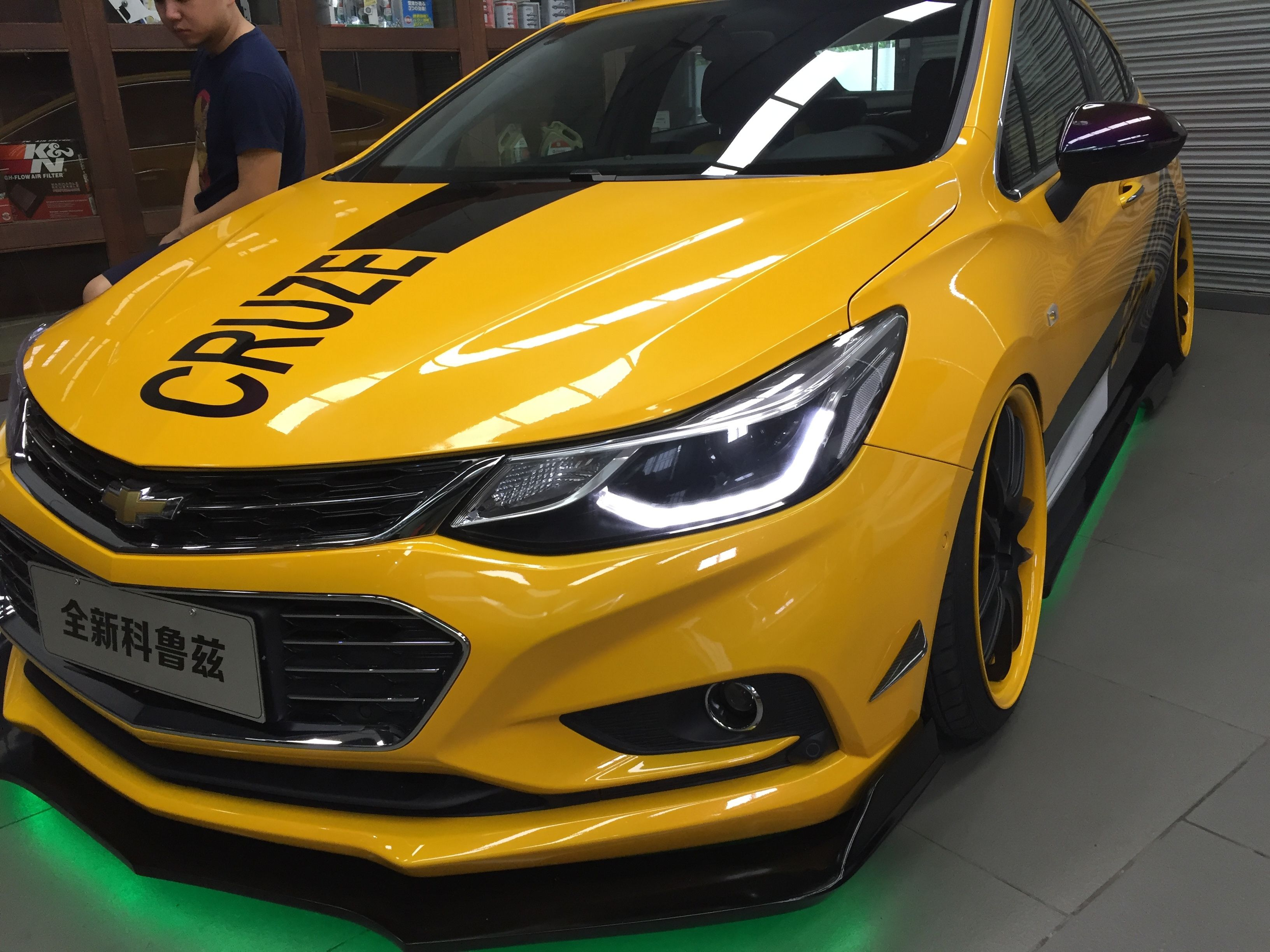 Here Is Chevorlet New Cruze Customize 5x105 To X114 3 Wheel Spacer Nice Color Chevy Cruze Cruze Chevrolet Cruze