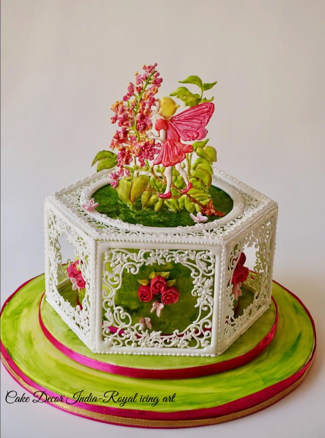 Royal icing Spring Fairy Tale Collaboration  by Prachi Dhabaldeb