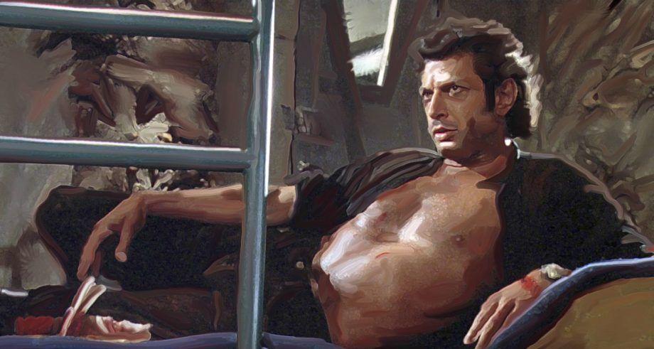 Awesome Thechive Camping Art Jeff Goldblum Jurassic Park Photo