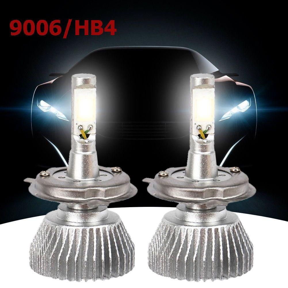 COPPIA LAMPADE FARI RICAMBIO AUTO 9006 HB4 LED 32W ALTA LUMINOSITA BIANCO FREDDO