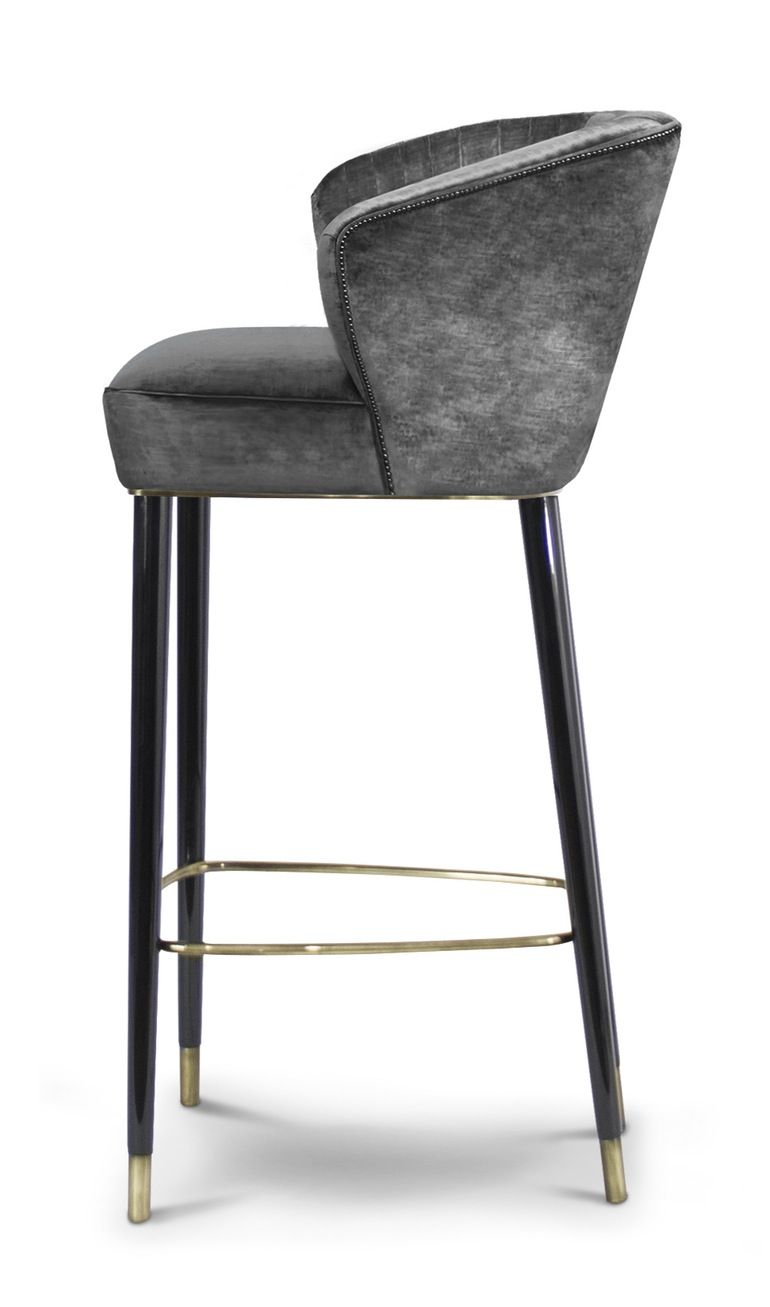Nuka Bar Counter Chair Furnitures Details Contemporary Bar