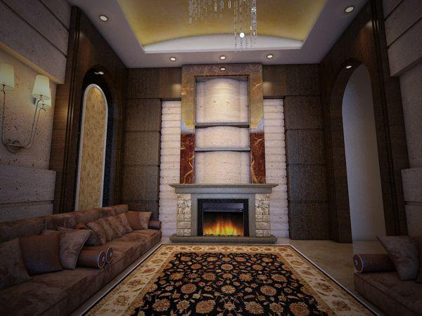 تصميم ديكورات مجالس جديدة فريدة Design Arabic Design Home