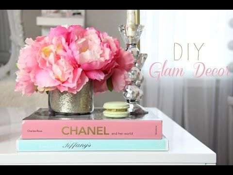 Glamorous Decorations For Girly Office Makeup room Vanity  Home