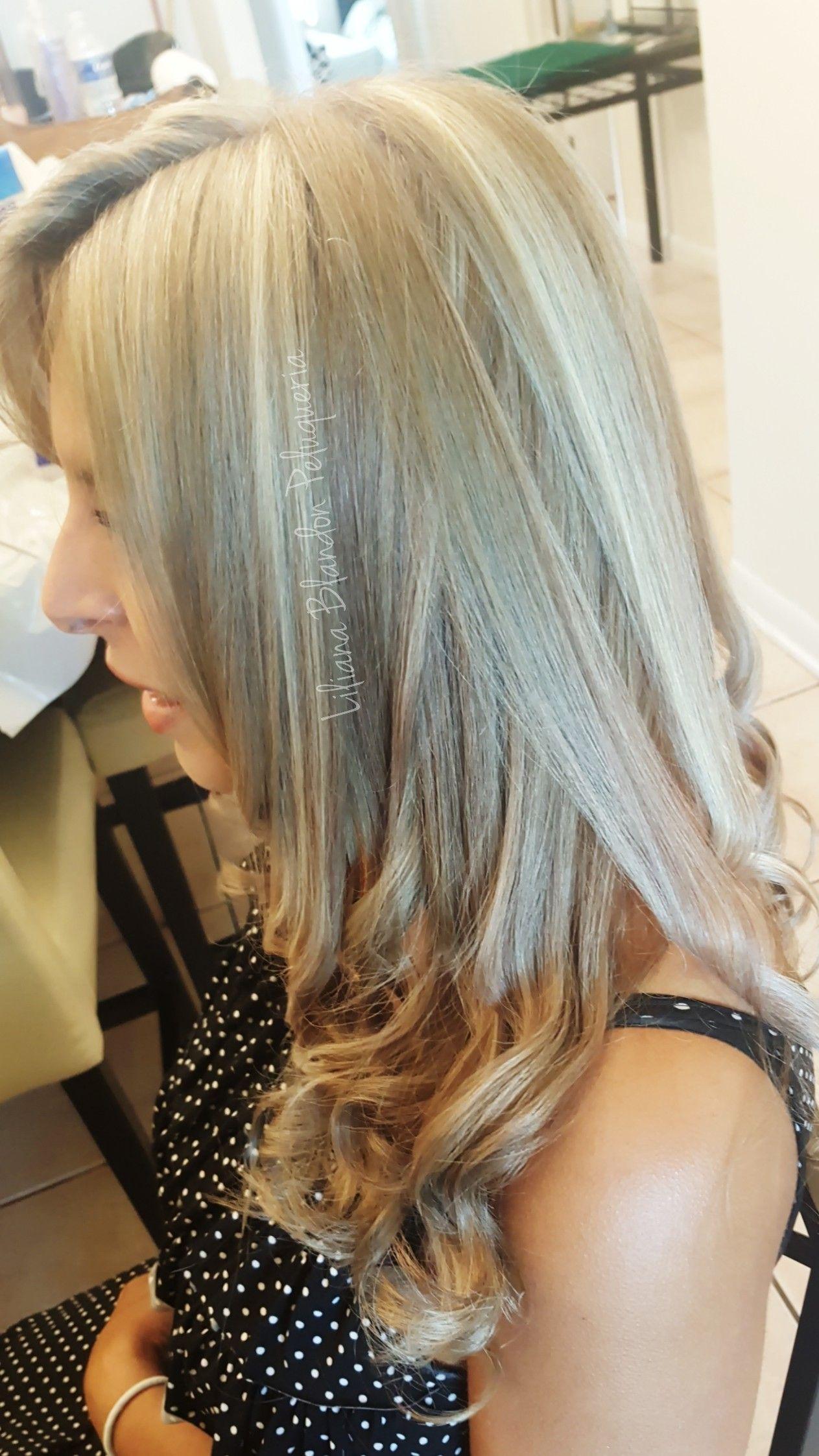 Hair Color Highlights Balayage Blond Hair