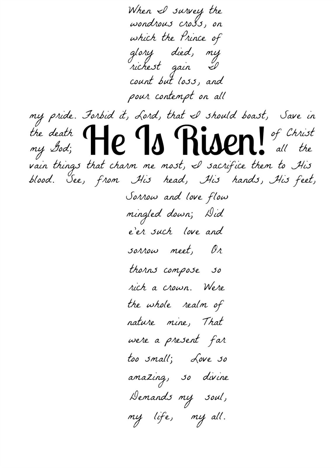 Jesus Easter Worksheets