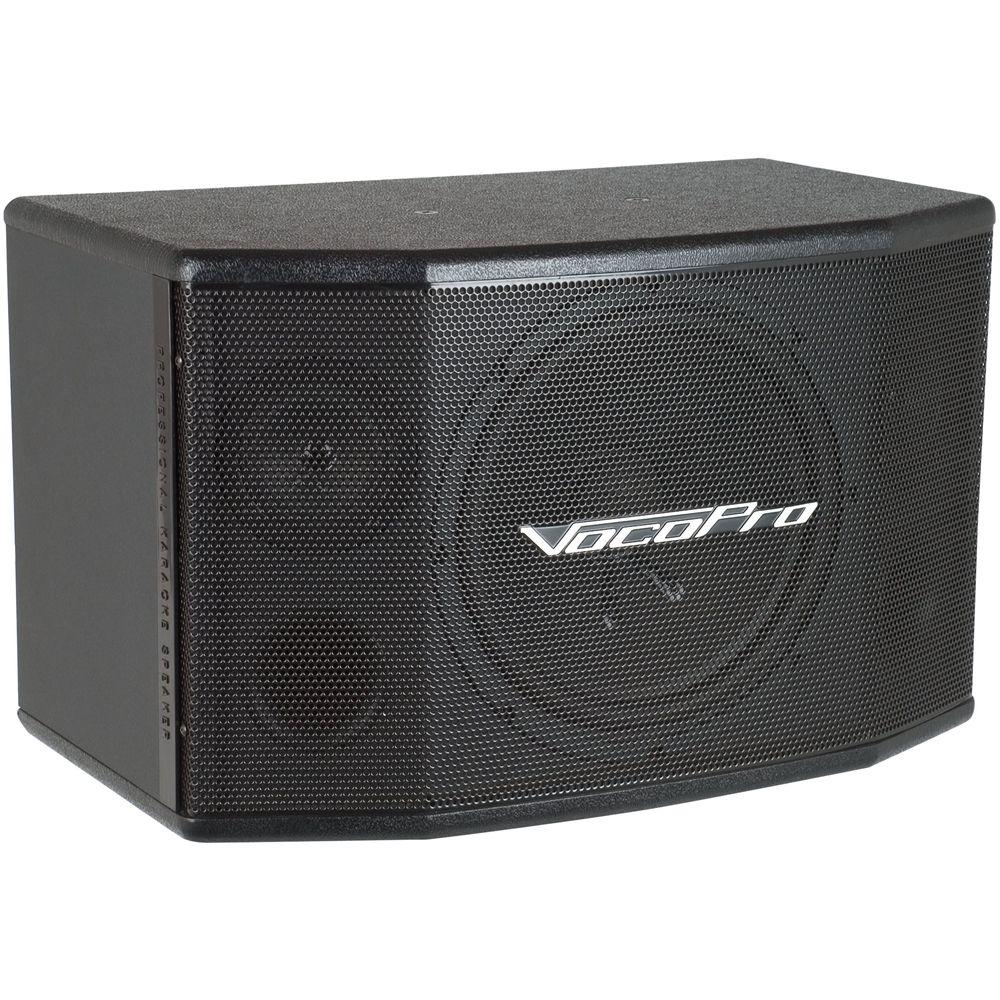 Vocopro 10 250 Watt Passive 2 Way Speaker Each Black Sv 502 Boston Acoustics A