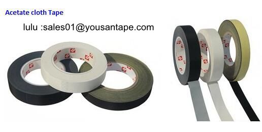 2018 Strong Adhesive Strong Adhesive Acetate Fiber Cloth Tape