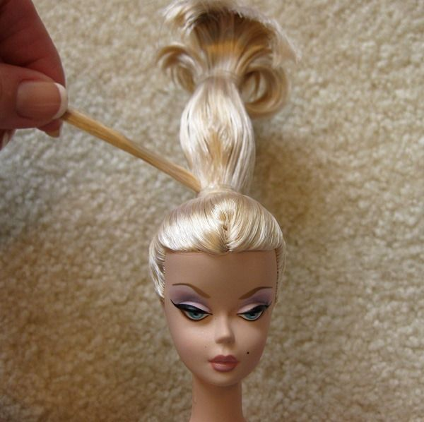 IMG_2945editedresized | Doll hair, Barbie hairstyle, Barbie hair