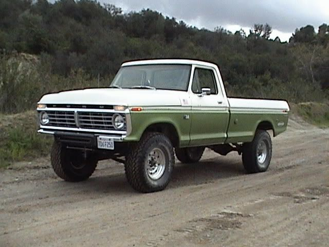 1976 F250 Lifted 76 F250 2wd Ford Truck Fanatics Classic Ford Trucks Ford Pickup Trucks Trucks